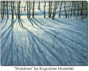 Shadows by Boguslaw Mosielski