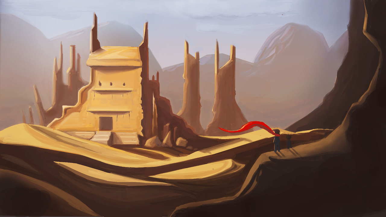 Desert Tower
