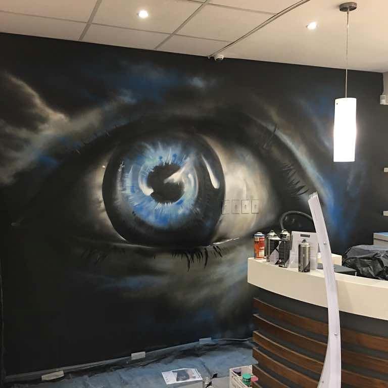 Indoor Mural | Nuke