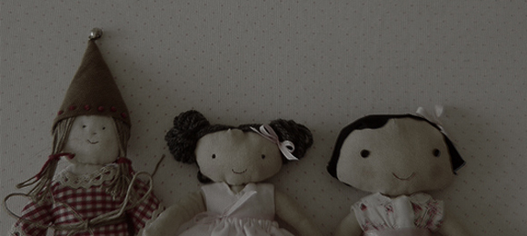 Photo and dolls made by Ana Aranda (Madrid, Spain)