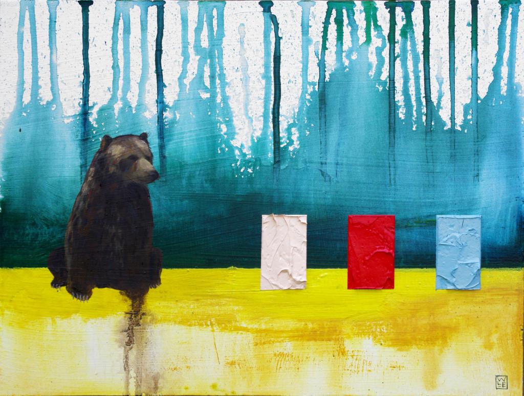 In Season animal art painting Will Eskridge