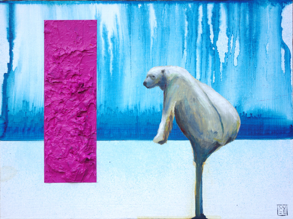 Indigenous Genius animal art painting Will Eskridge