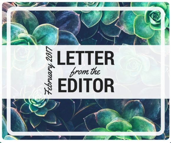 Feb Letter from the Edtor