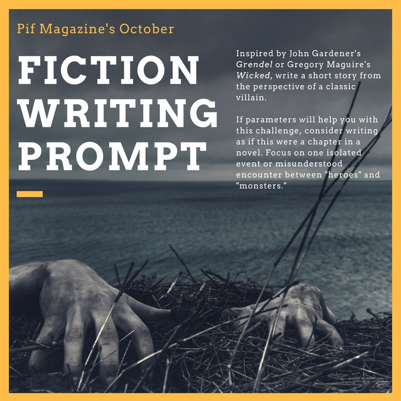 Fiction Writing Prompt October